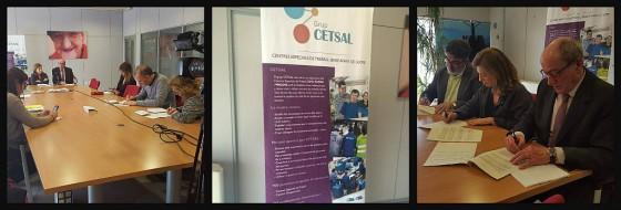 CIPO, FUPAR i PRODIS presenten CETSAL