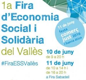 1ª Fira d'Economia Social i Solidària del Vallès