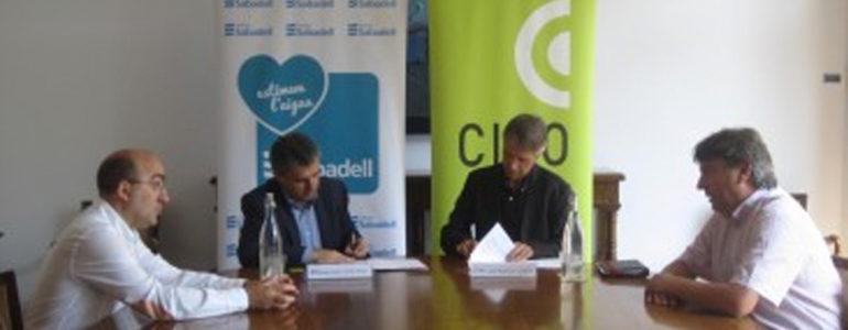CIPO i Aigües Sabadell sumen plegats a favor dels projectes d'inclusió social