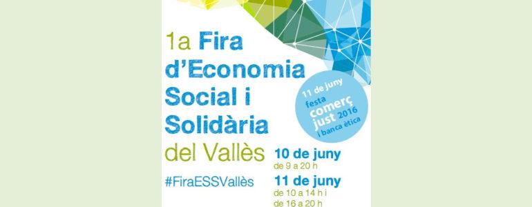 CIPO participa a la 1ª Fira d'Economia Social i Solidària del Vallès