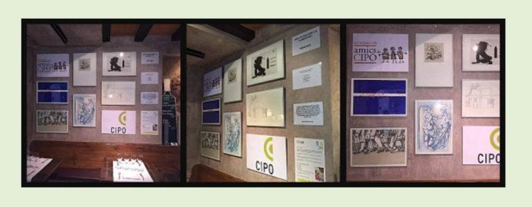 La Fundació Amics de CIPO exposa les seves litografies al restaurant El Racó del Campanar