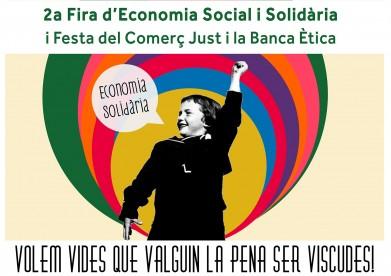 Cartell 2ª Fira d'Economia Social i Solidària